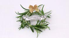 25 Days Of Christmas: Rosemary Jingle Bell Wreath - ABCFamily.com #25DaysOfChristmas @Cheryl M