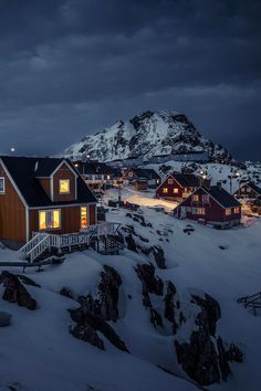 Qiviarfik in Sisimiut, Greenland (by Northbound on 500px)