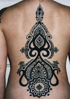 tribal tattoo