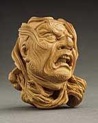 Shoko (Nishino Shotaro) (Japan, 1915 - 1969)   Severed Head of Samurai
