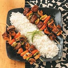 Barbecue Beef Kabobs Recipe