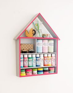 DIY: Craft storage house | at home in love
