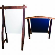 Wine Barrel Easels