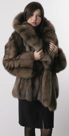 sable fur jacket