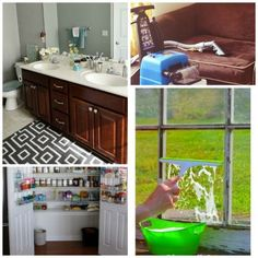 Spring Sparkle Room by Room: 10 Spring Cleaning Tutorials | Spoonful #spring #cleaning #tips