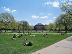 University of Illinois at Urbana-Champaign; love going back to my alma mater whenever possible.