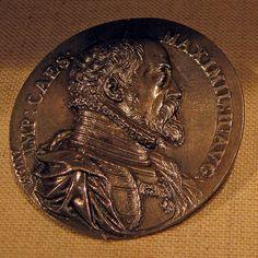 Emperor Maximilian II Italian,Antonio Abondio ca 1575