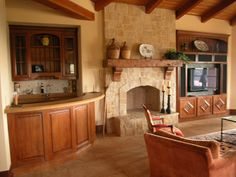 this type of fireplace stone-Fireplaces « The French Tradition