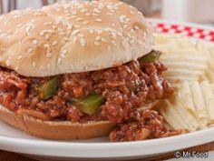 Homestyle Sloppy Joes #Dinner #Kid #Recipe