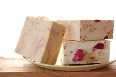 DIY Milky Rose Soap Bar