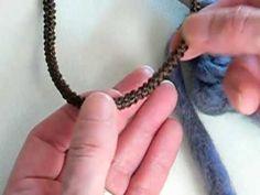 video tutorial laccio ad uncinetto crochet rope.flv