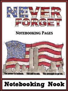 Free Patriot Day Notebooking Pages 9/11 | Free Homeschool Deals ©