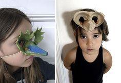 egg carton masks