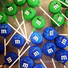M&M #CakePops