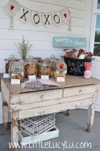 The ultimate dessert bar for your wedding!