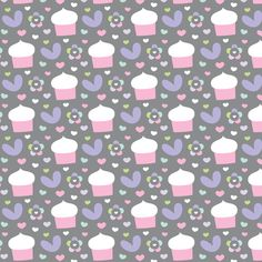 sweet girl - cupcakes fabric by misstiina on Spoonflower - custom fabric