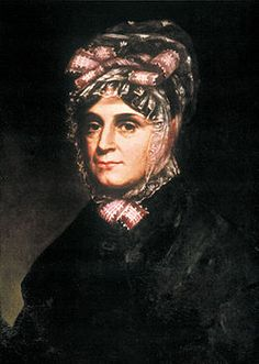 Anna Symmes Harrison - wife & mother of ten children by President William Harrison and was the great grandmama to President Benjamin Harrison. She never entered the White House because as she was getting ready for the trip, she heard of her husband's death. She outlived her husband by 23 years.