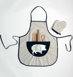 Odette Williams kids apron set