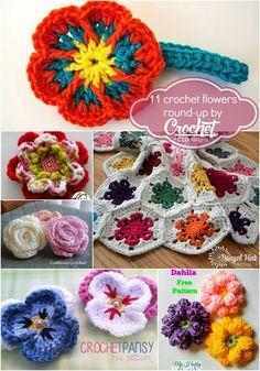 CEDdesigns: Flower Patterns Round-Up