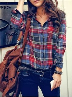Casual Plaid Outfits