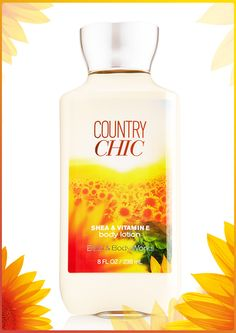 2X the moisture.  3X the shea. Softer skin is SO chic!  #CountryChic