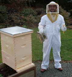 The Only Kit Designed To Get You Started Beekeeping And Produce Honey. Includes The All Of The Hive Parts, A Suit, Veil, Smoker, Hive Tool, And Much Much More…