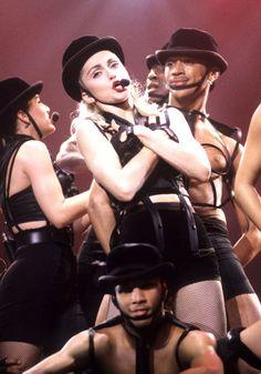 Madonna con Hot Pants