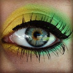 my saint patrick's day makeup. nothing too spectacular!