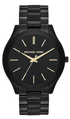 love this #black Michael Kors watch http://rstyle.me/~2vux5