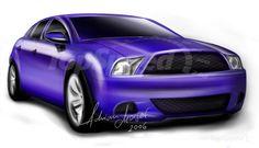 2011 Ford Mustang 4 door sedan Preview