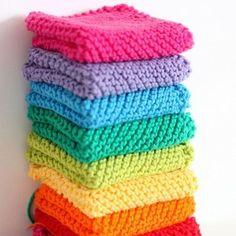 Free Knitting Pattern - Dishclothes & Washcloths : Grandmother's Favorite Dishcloth