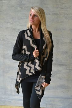 Piace Boutique - On the Verge Cardi, $39