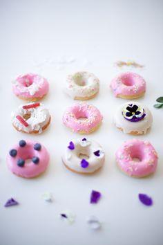 sweet doughnut decorating ideas + creative glaze recipes
