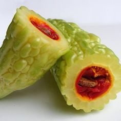 Bitter Melon  This fruit that resembles a wrinkly cucumber may actually treat diabetes. Bitter melon can lower your blood sugar and burn fat, says clinical nutritionist Stephan Dorlandt.