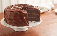 HERSHEY'S ''PERFECTLY CHOCOLATE'' Chocolate Cake (This is perfect. I made it last night and I'll always return to it)