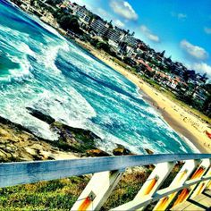 Morning beach swim! Bronte Beach, Sydney. BBQ anyone?