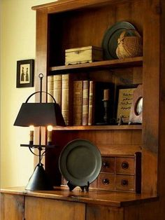 cupboard, vignett, lamp, reading books, coloni desk