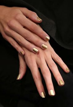 go for the gold #nails