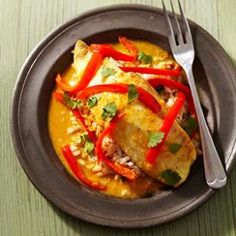 Baked Tilapia Curry  Recipe