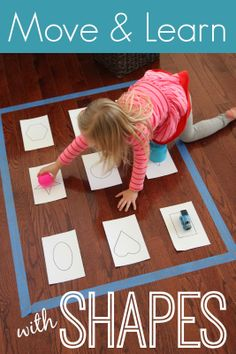 Toddler Approved! Move & Learn with Shapes plus Pop Games giveaway from Learning Resources! game review, toddler approved, shape pop, toddlers, movement activities, girl activ, pop game, learning resources, active toddler learning games