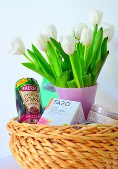 Monthly Blooms: DIY Gift Basket | Design OCD