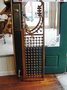 Victorian Oak Architectural Fretwork Piece with Stick & Ball from Bread & Butter Antiques LLC Exclusively on Ruby Lane