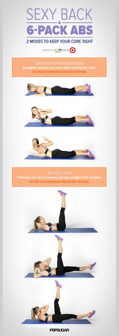 When it comes to having a strong core, you need to work your abs and back together. This 5-minute video is the perfect strength-training routine for the front and back of your body!