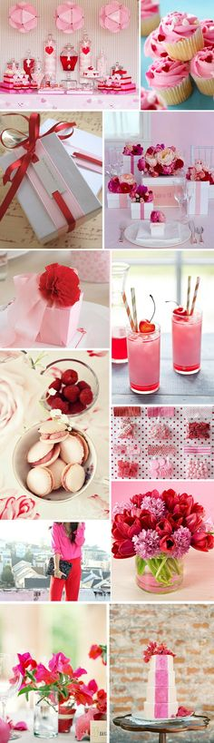 Pink and Red BridalShower