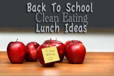 Clean Eating School Lunches  www.TheGraciousPa...