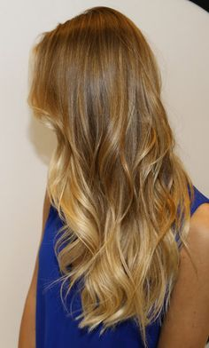Pretty Blond Highlights hopefully will look good in my hair natural colors, summer hair, blonde highlights, new hair colors, box, subtle ombre hair blonde, blond ombr, pretti blond, blond highlight