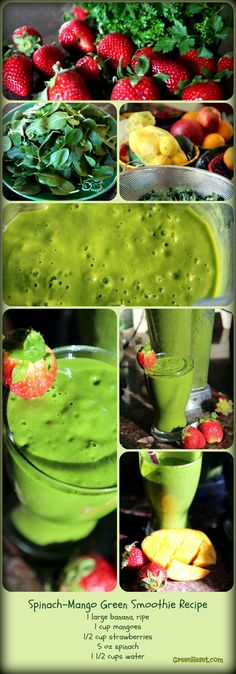 Spinach Recipes | Green Smoothies ❤