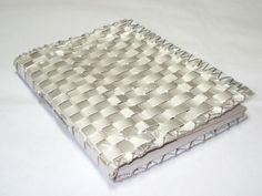 Capa caderno c/ caixa de leite tetra pac