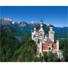 neuschwanstein castle ... right out of the fairy tales