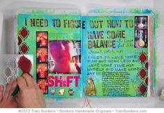 inspiring visual art journals